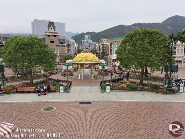 Hong Kong Disneyland - Main Street USA - Town Square