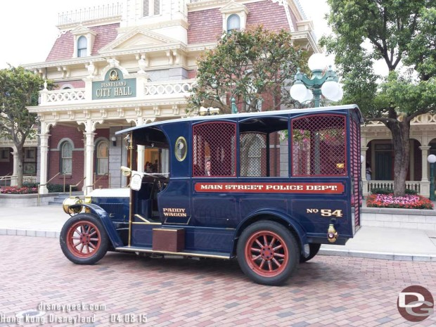 Hong Kong Disneyland - Main Street USA - Paddy Wagon