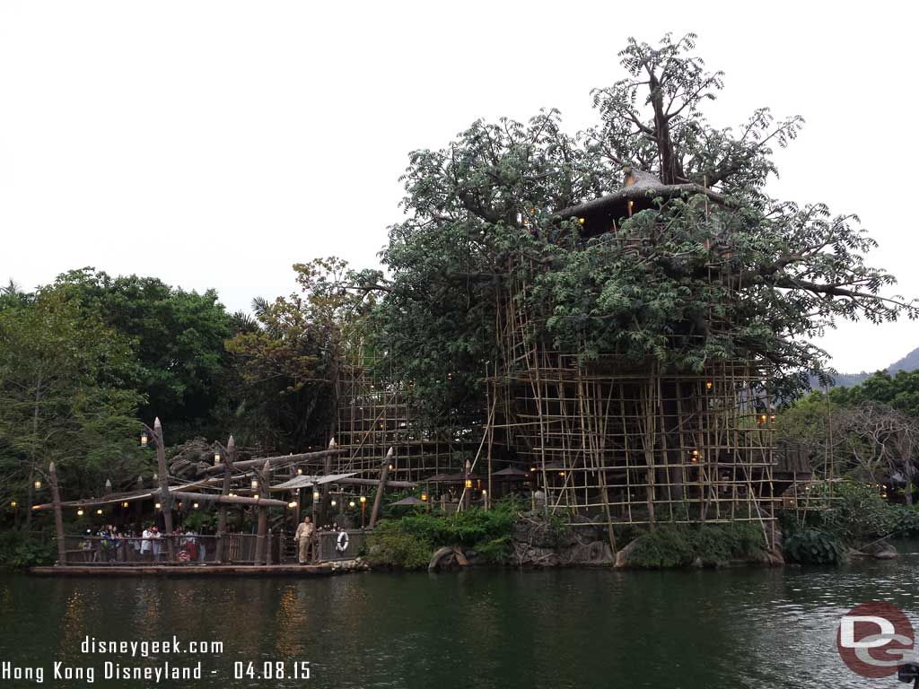 Hong Kong Disneyland - Adventureland - Tarzan's Treehouse