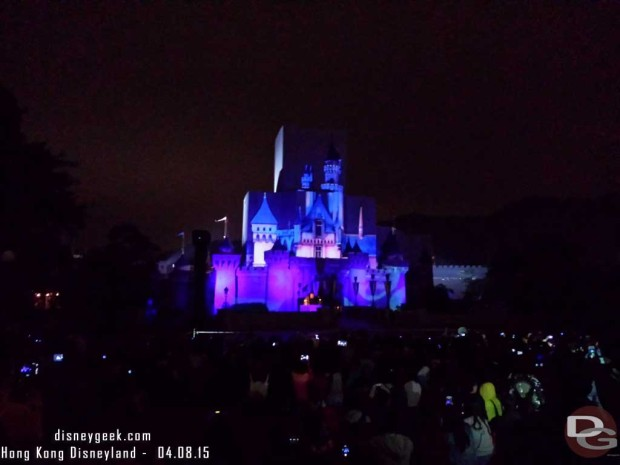 Hong Kong Disneyland - Sleeping Beauty Castle