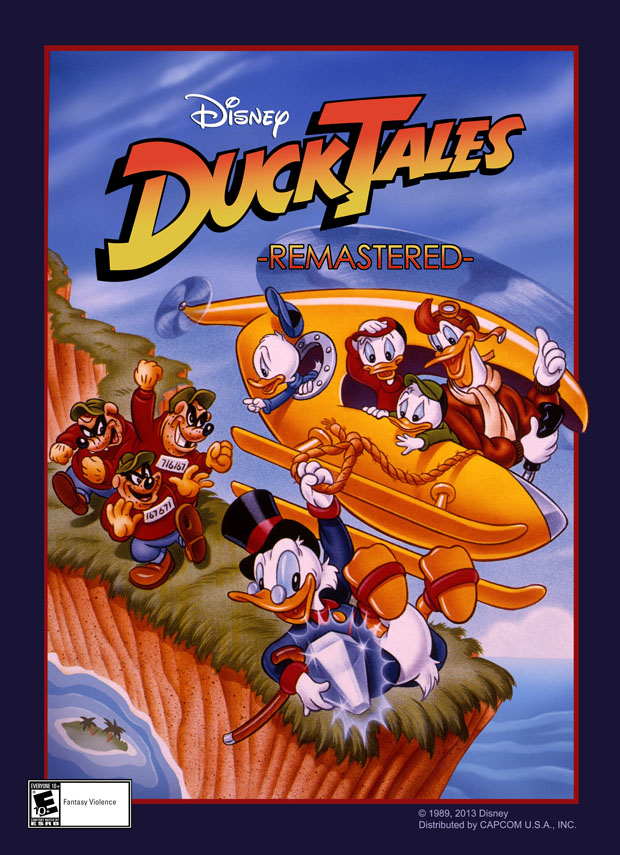 DuckTales Comes to Mobile Devices for First Time with DuckTales: Remastered Game (Disney News Release)