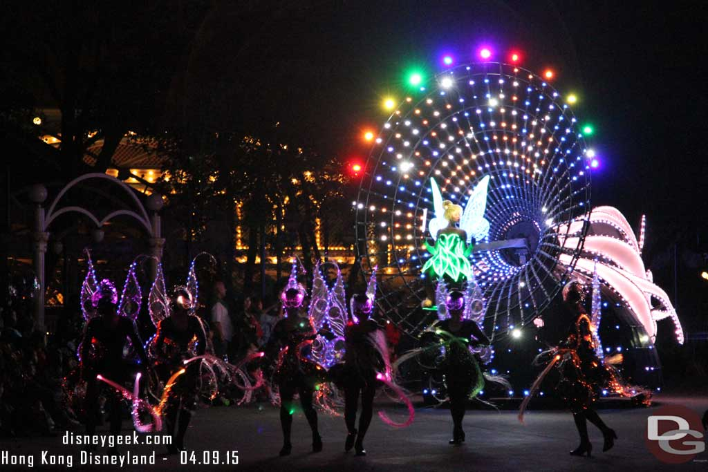 Disney Paint the Night Parade at Hong Kong Disneyland