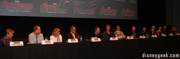Marvel's Avengers: Age of Ultron – Press Conference & First Impressions by Teri
