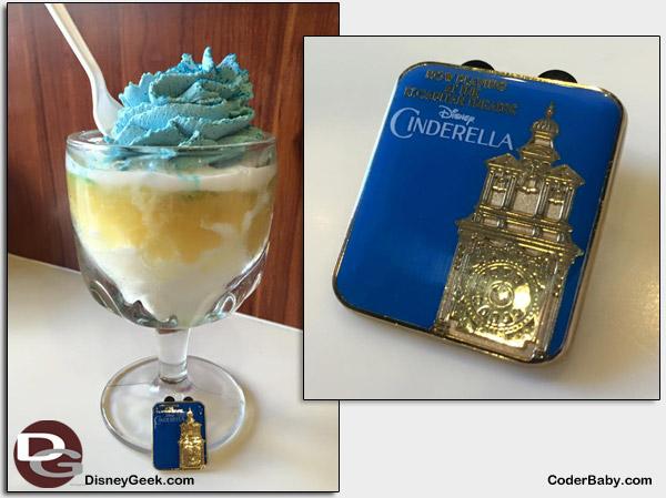 The Limited Edition Cinderella Swirl Sundae at Ghirardelli Soda Fountain and Chocolate Shop