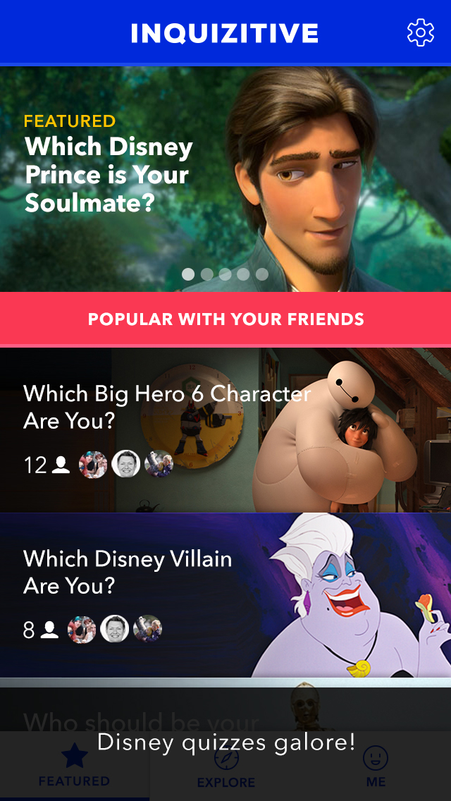 Test Your Disney IQ with New Trivia Quizzes in Disney Inquizitive!  (Disney News Release)