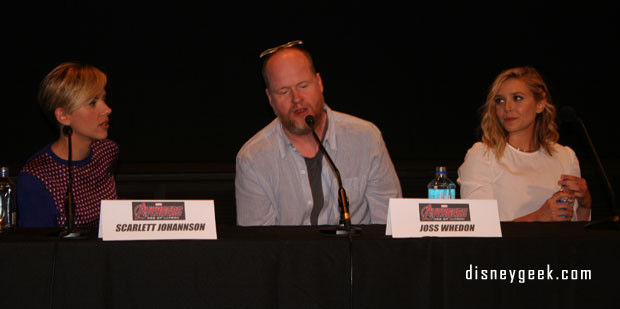 JOSS WHEDON Avengers press conference