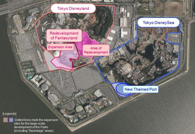 Tokyo DisneySea Expansion