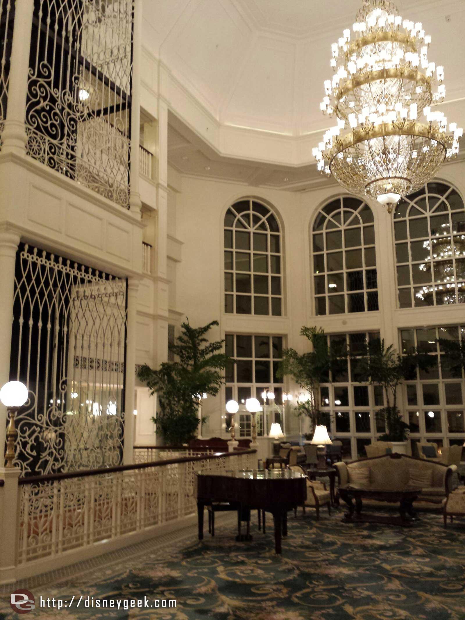 #HongKongDisneyland Hotel lobby