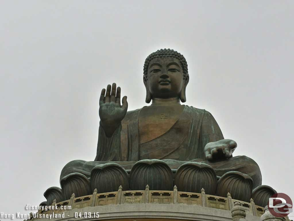 The big buddha in Ngong Ping #HongKong