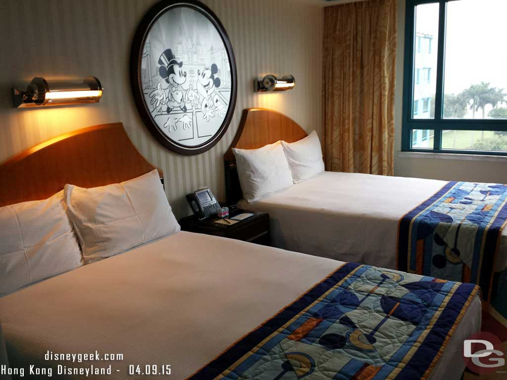 Disney's Hollywood Hotel room #HongKongDisneyland