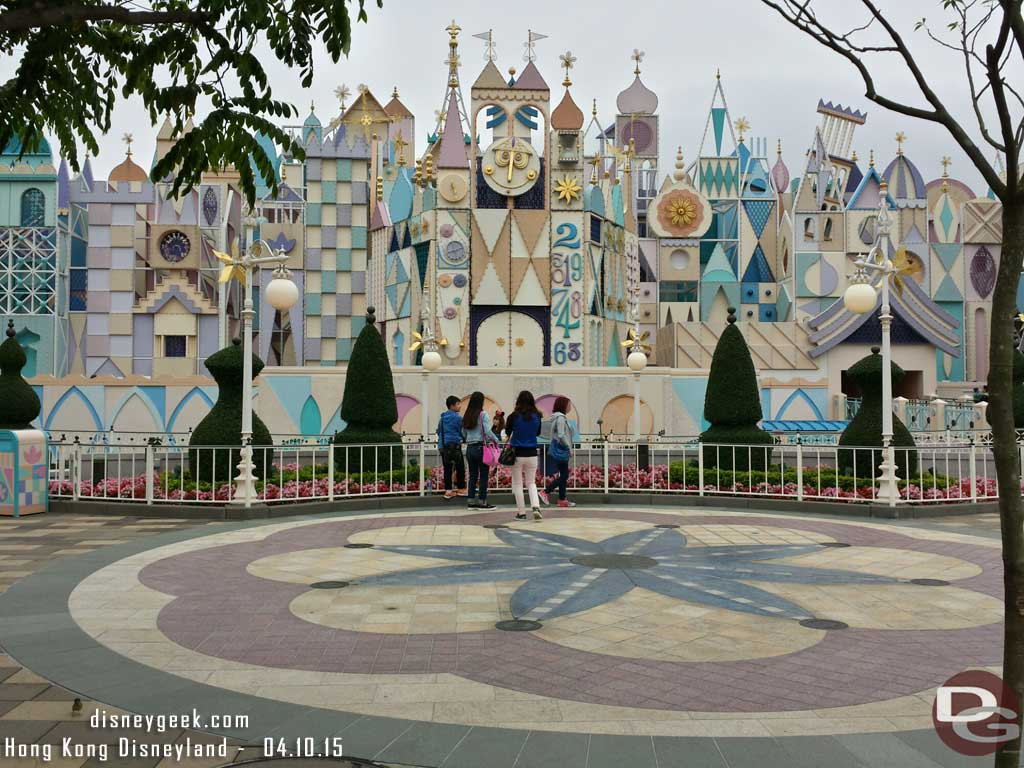 Hong Kong Disneyland - it's a small world