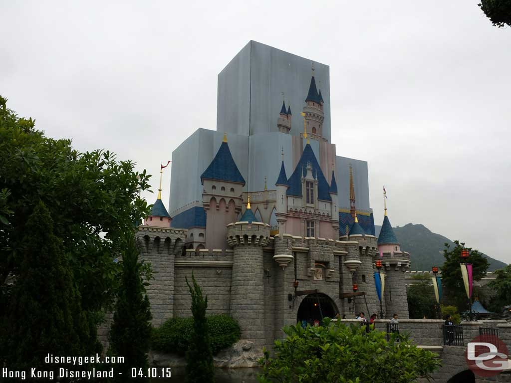 Sleeping Beauty Castle #HongKongDisneyland