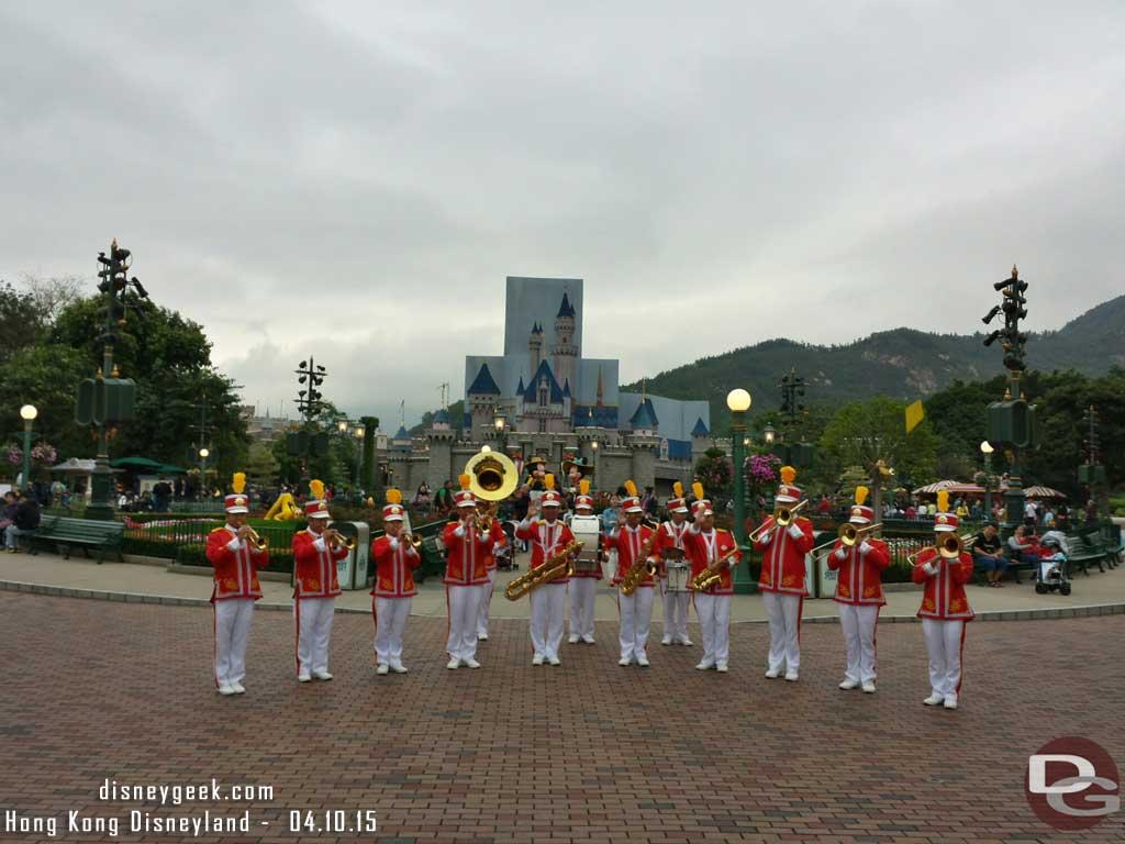 #HongKongDisneyland Band