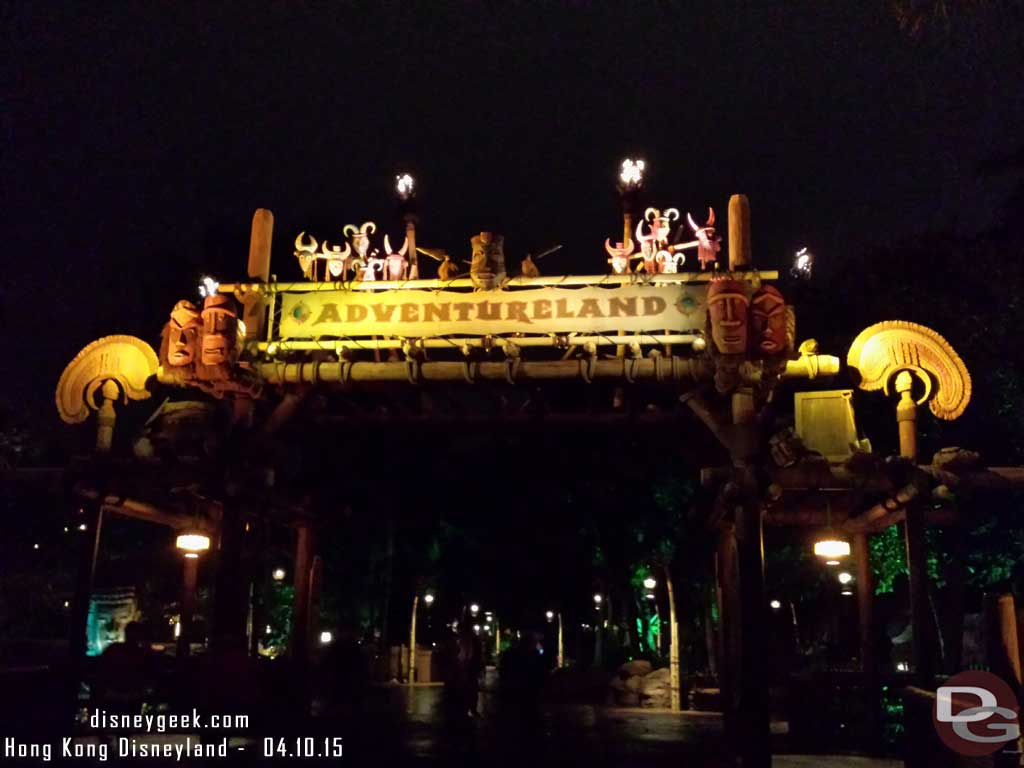 Adventureland entrance #HongKongDisneyland