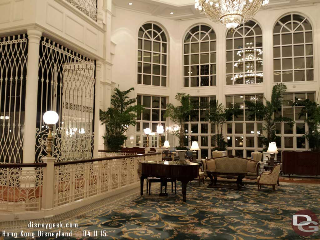 #HongKongDisneyland Hotel lobby on my way out