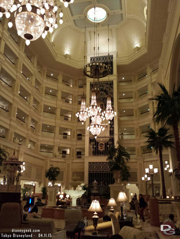 #TokyoDisneylandHotel lobby