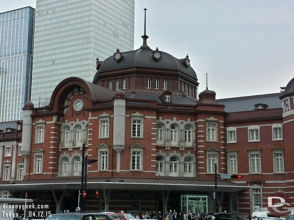 #Tokyo Central Station