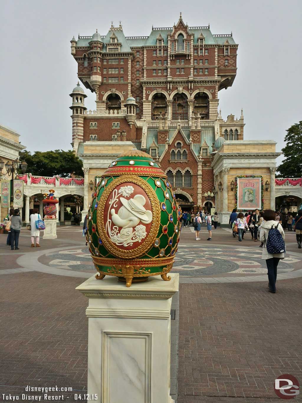 Mickey Mouse egg in the American Waterfront area #TokyoDisneySea #TDR