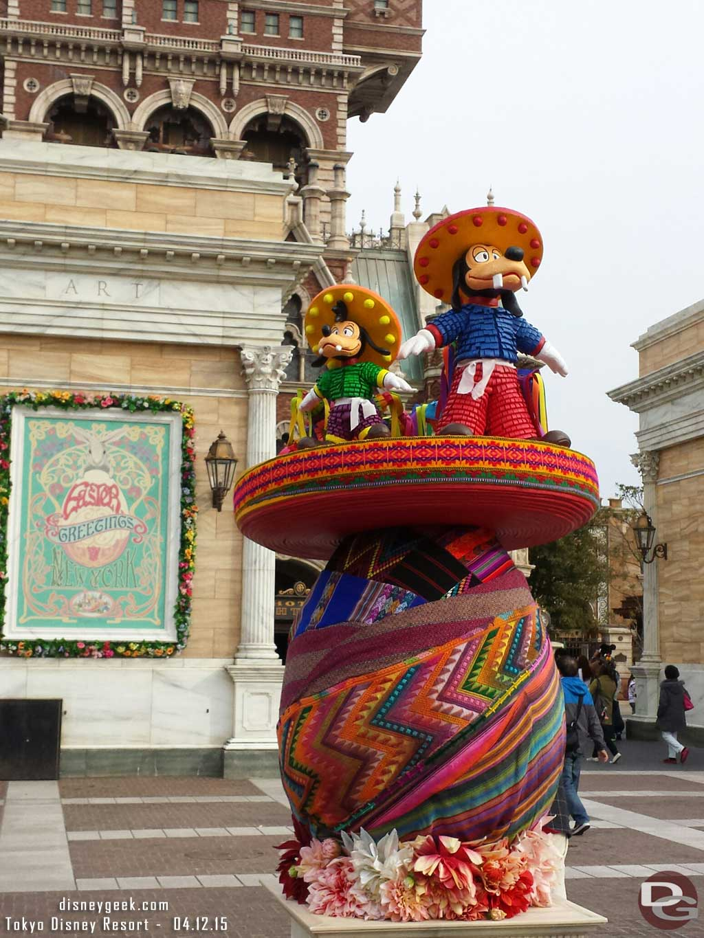 Goofy & Max Easter Egg in the American Waterfront at #TokyoDisneySea #TDR