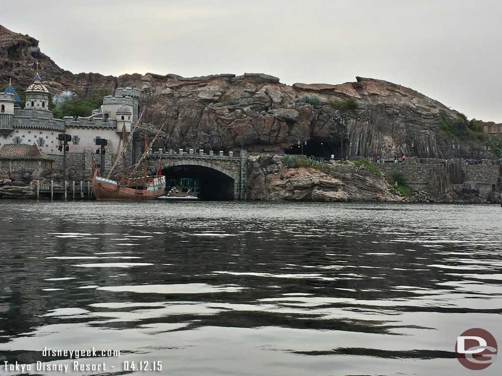 A water level view from a gondola #TokyoDisneySea #TDR