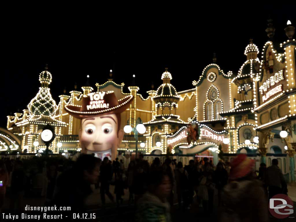 Trolley Park this evening at #TokyoDisneySea #TDR