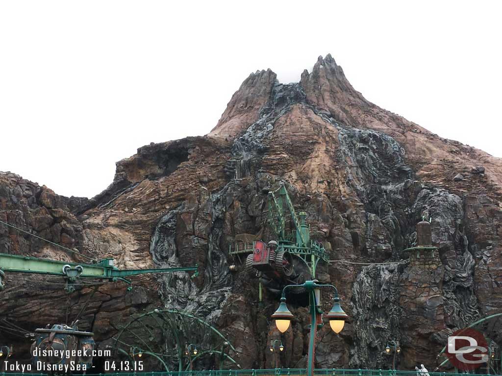 Mysterious Island Mount Prometheus #TokyoDisneySea #tdr