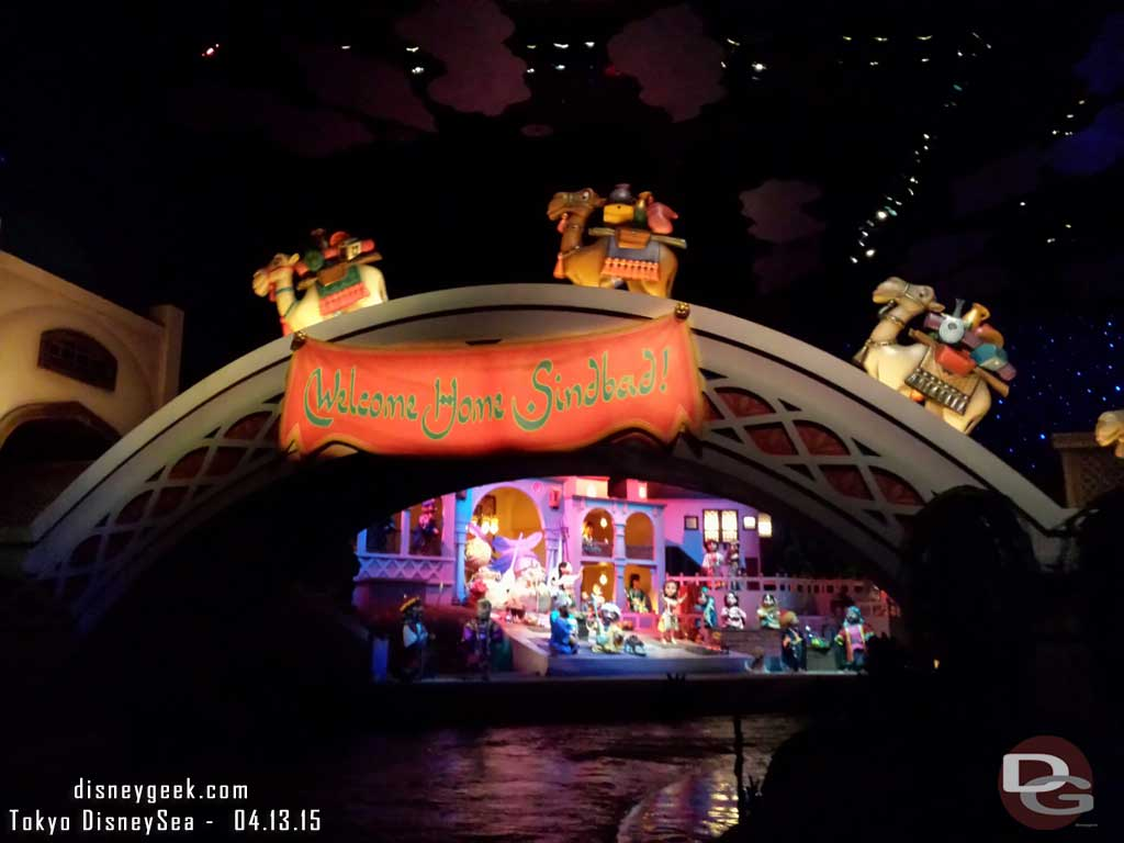 The finale to Sindbad's Journey #TokyoDisneySea