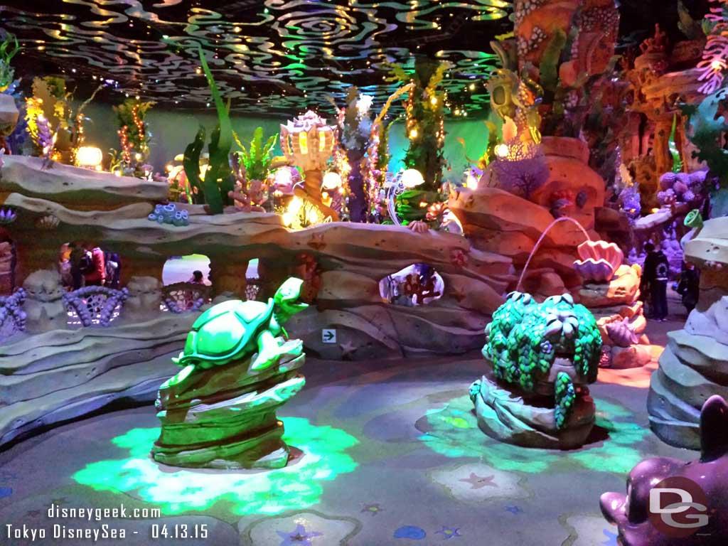 Inside Mermaid Lagoon #TokyoDisneySea