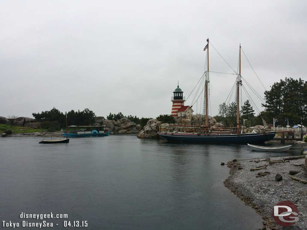 The Cape Cod area of the American Waterfront #TokyoDisneySea