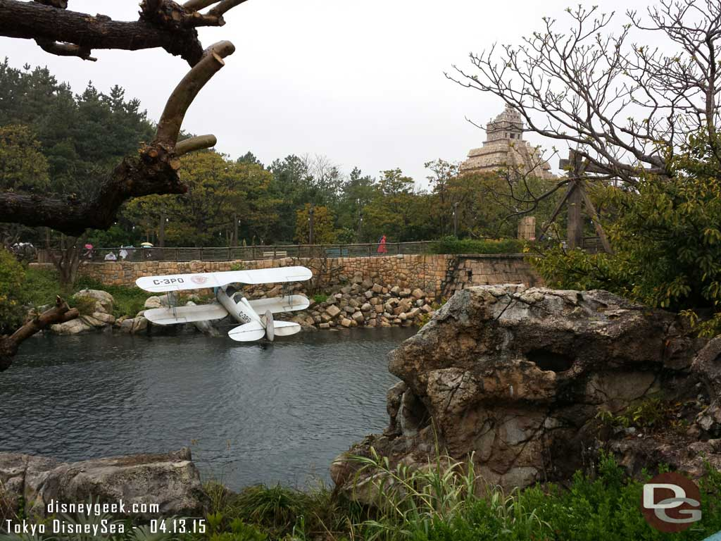 The Lost River Delta, notice the plane ID. #TokyoDisneySea