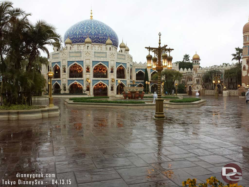 A courtyard in the Arabian Coast #TokyoDisneySea