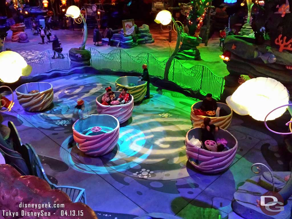 The Whirlpool – Mermaid Lagoon #TokyoDisneySea