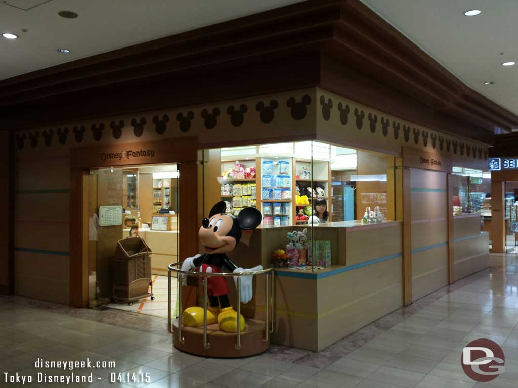 Disney store in the Hilton lobby #TokyoDisney #tdr