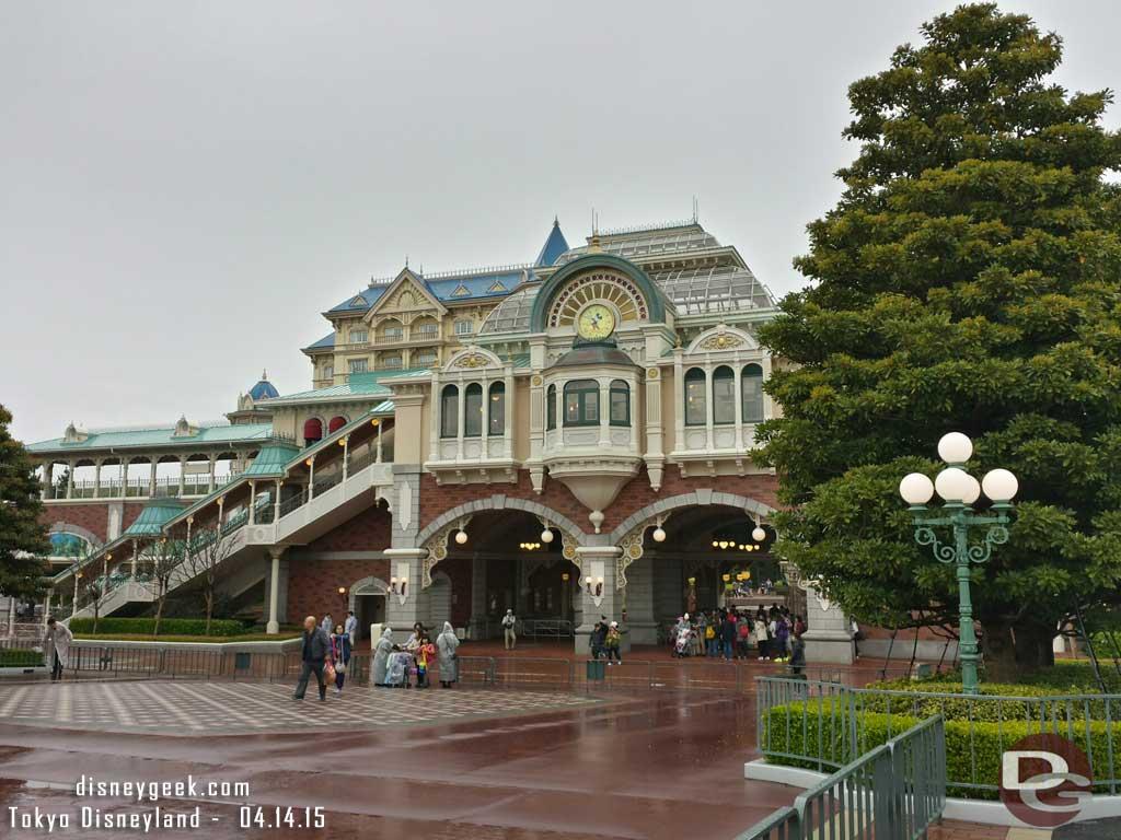 #TokyoDisneyland Station