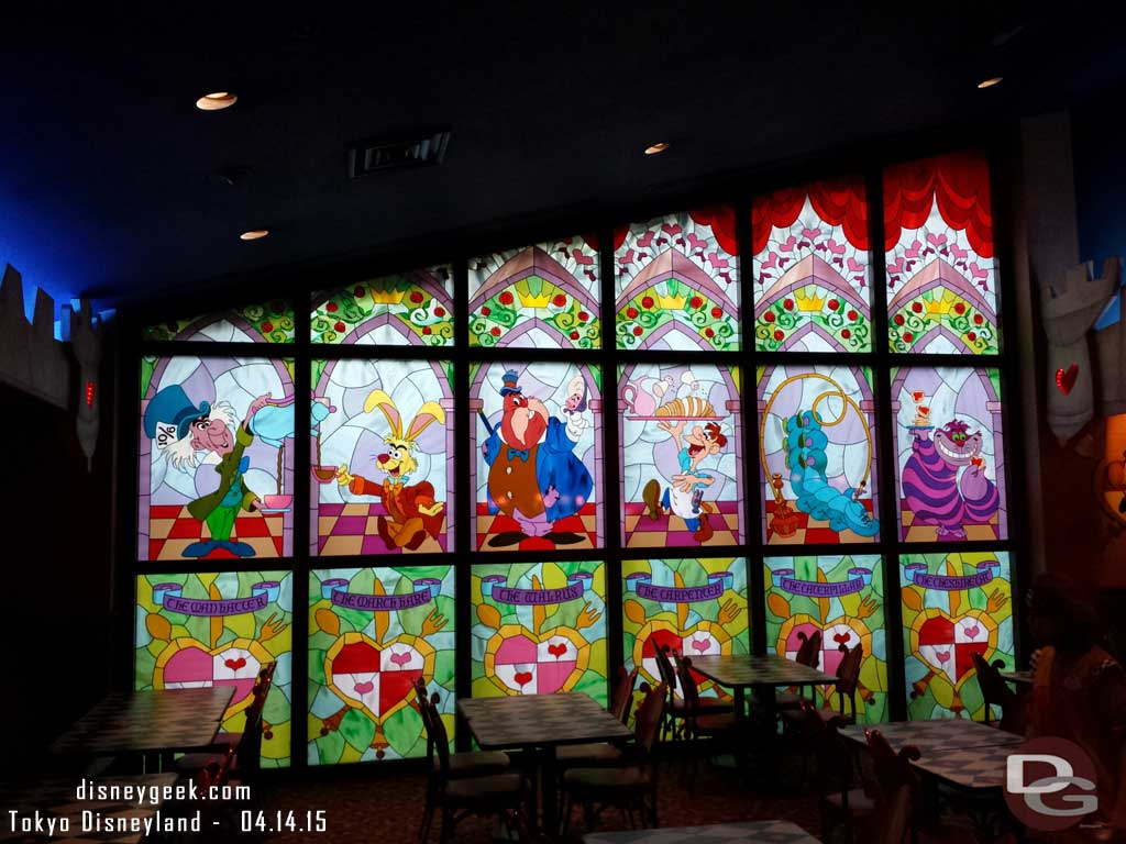 Queen of Hearts banquet  dining room #TokyoDisneyland