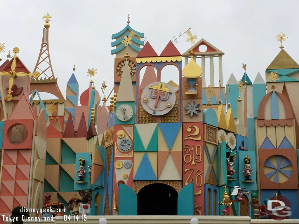 It's a Small World #TokyoDisneyland