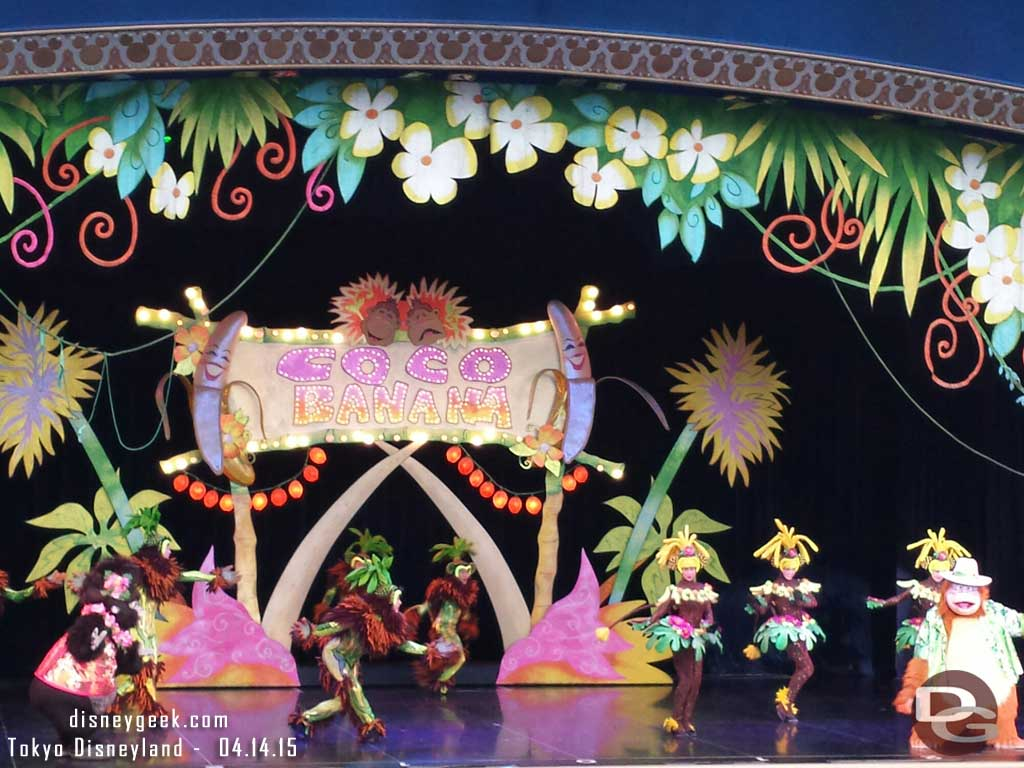 One Man's Dream II – Coco Banana #TokyoDisneyland