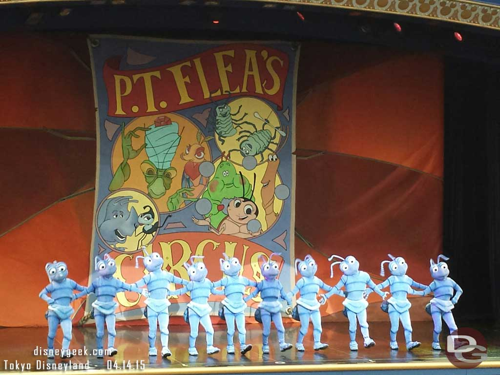 One Man's Dream II – ant chorus line #TokyoDisneyland