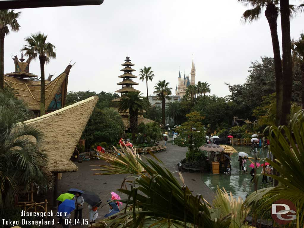 More of Adventureland from the Western River Railroad #TokyoDisneyland