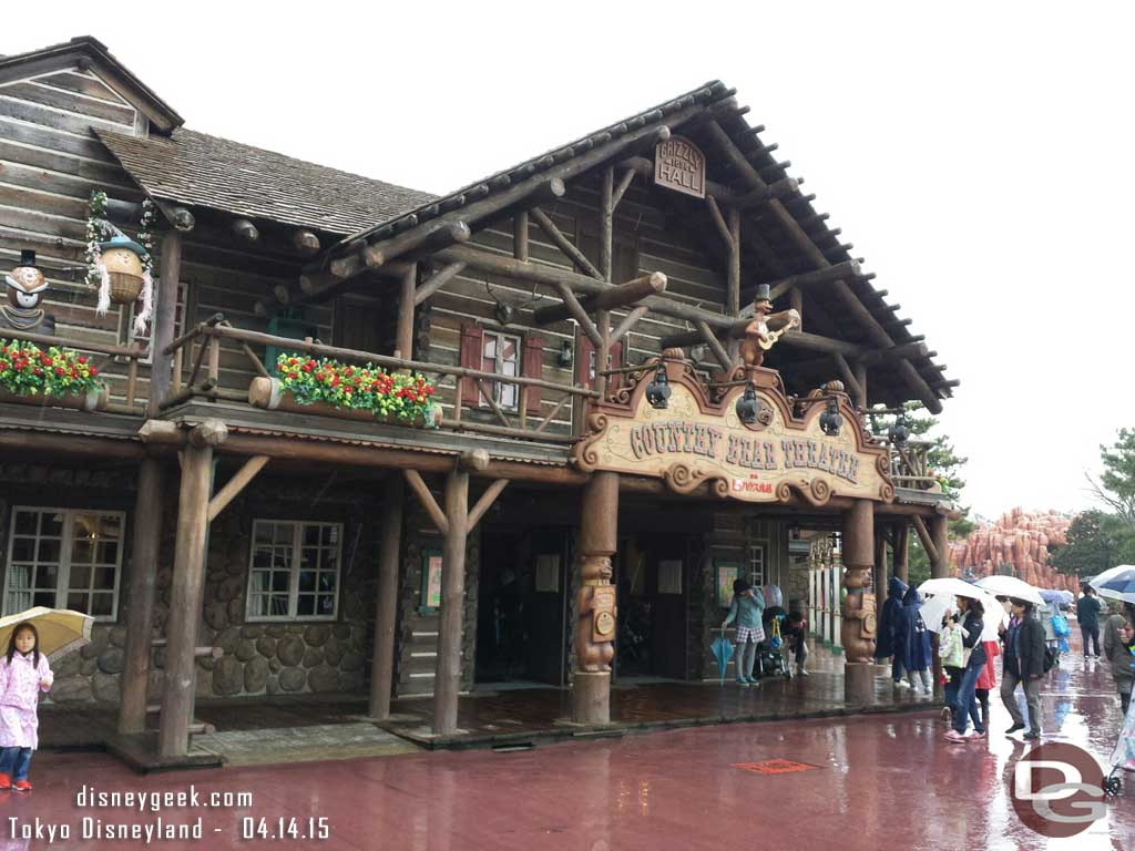 Country Bear Theater #TokyoDisneyland