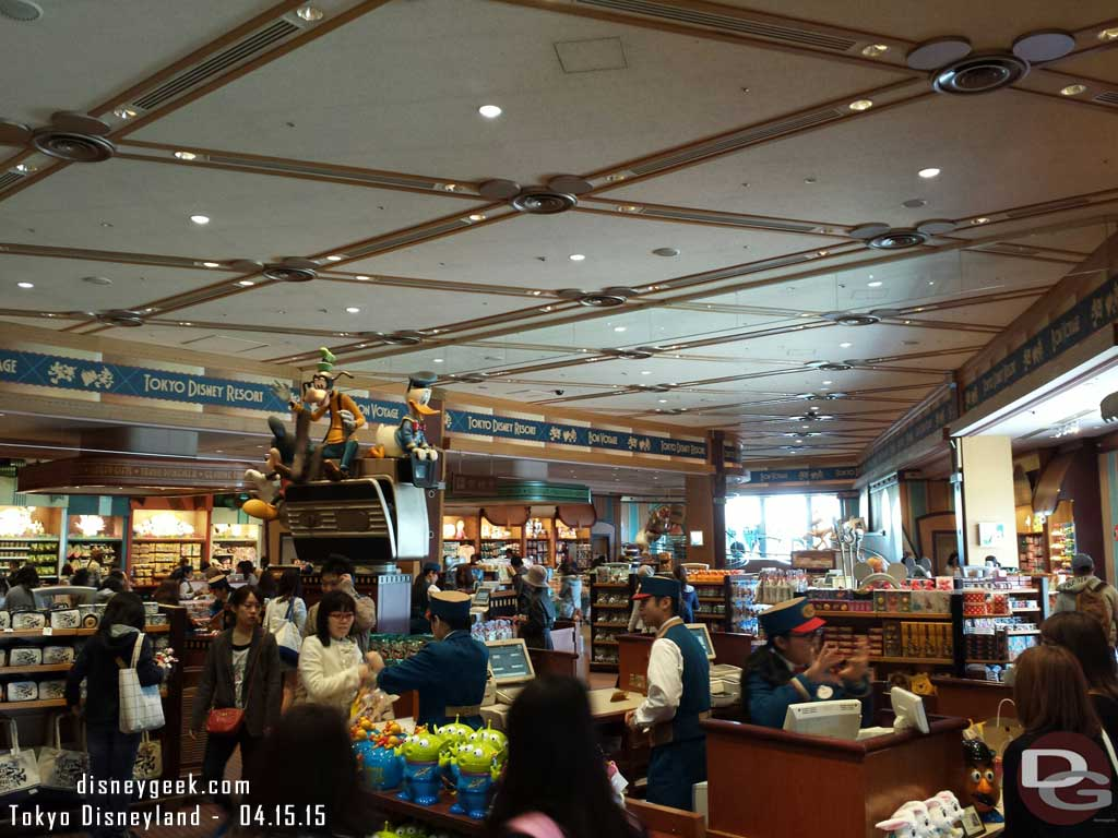 Inside Bon Voyage (World of Disney) #TokyoDisneyland
