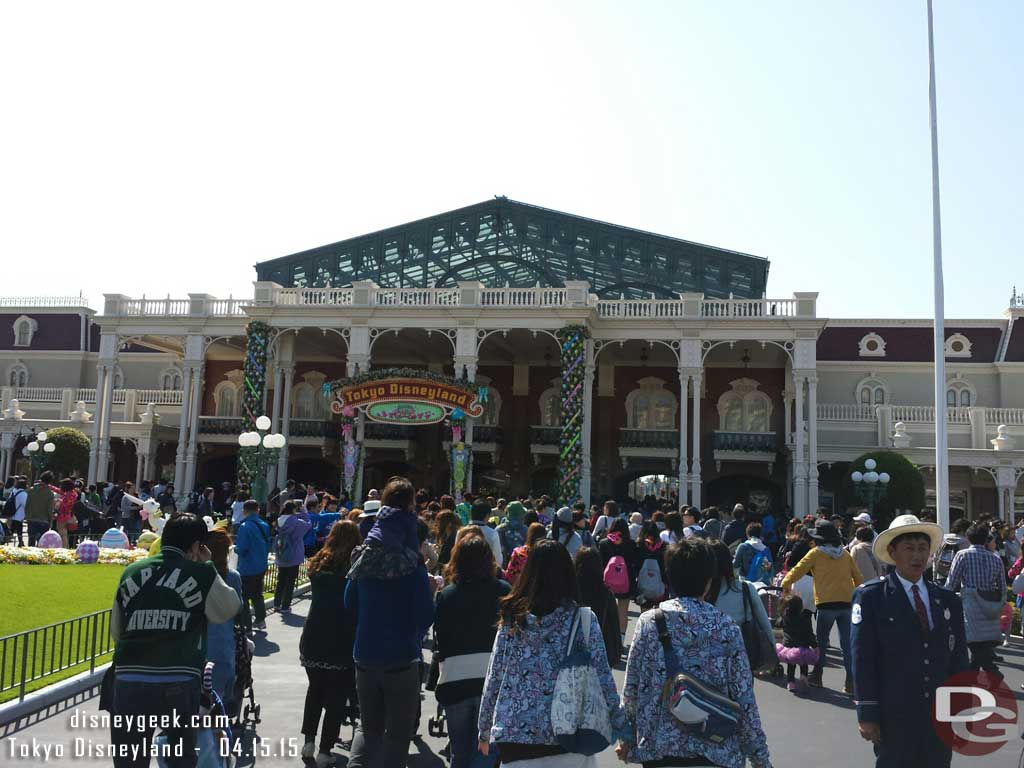 Joining the masses heading into #TokyoDisneyland