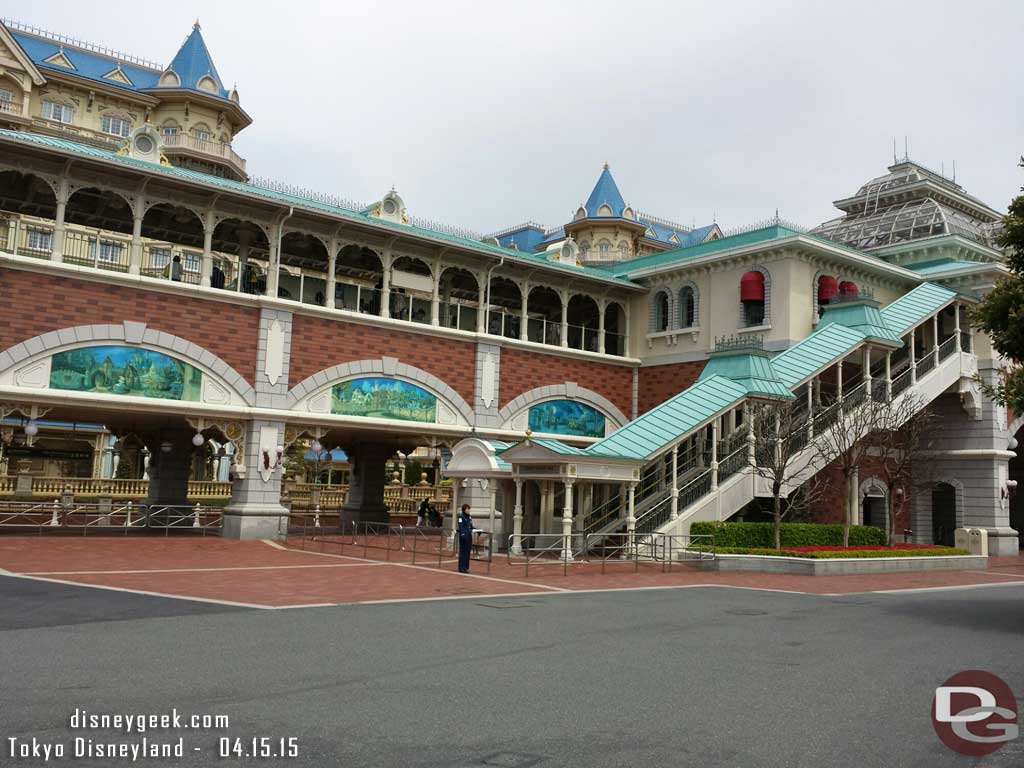 #TokyoDisneyland Resort Line Station