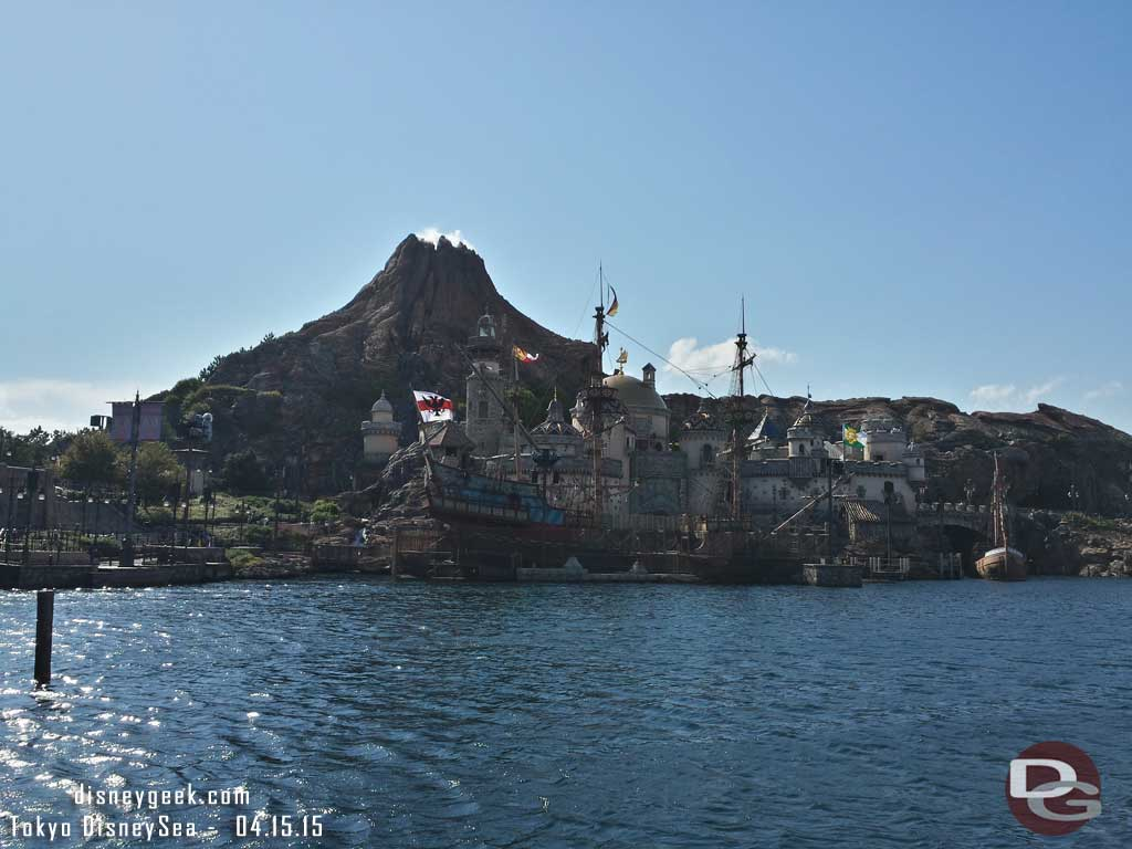 Looking toward Mysterious Island #TokyoDisneySea