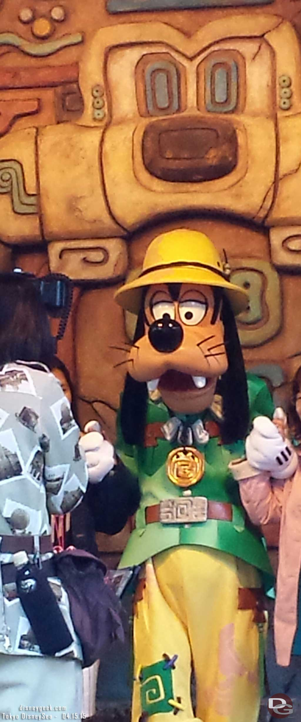 Goofy in the Lost River Delta #TokyoDisneySea
