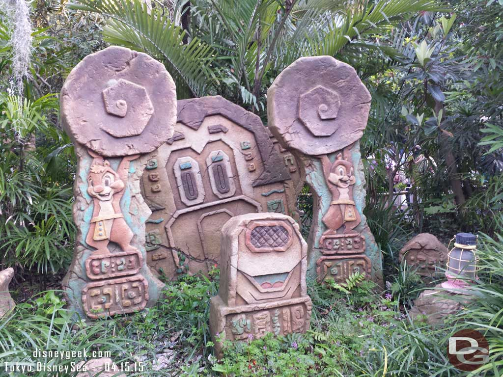Chip & Dale ruins in the Lost River Delta #TokyoDisneySea