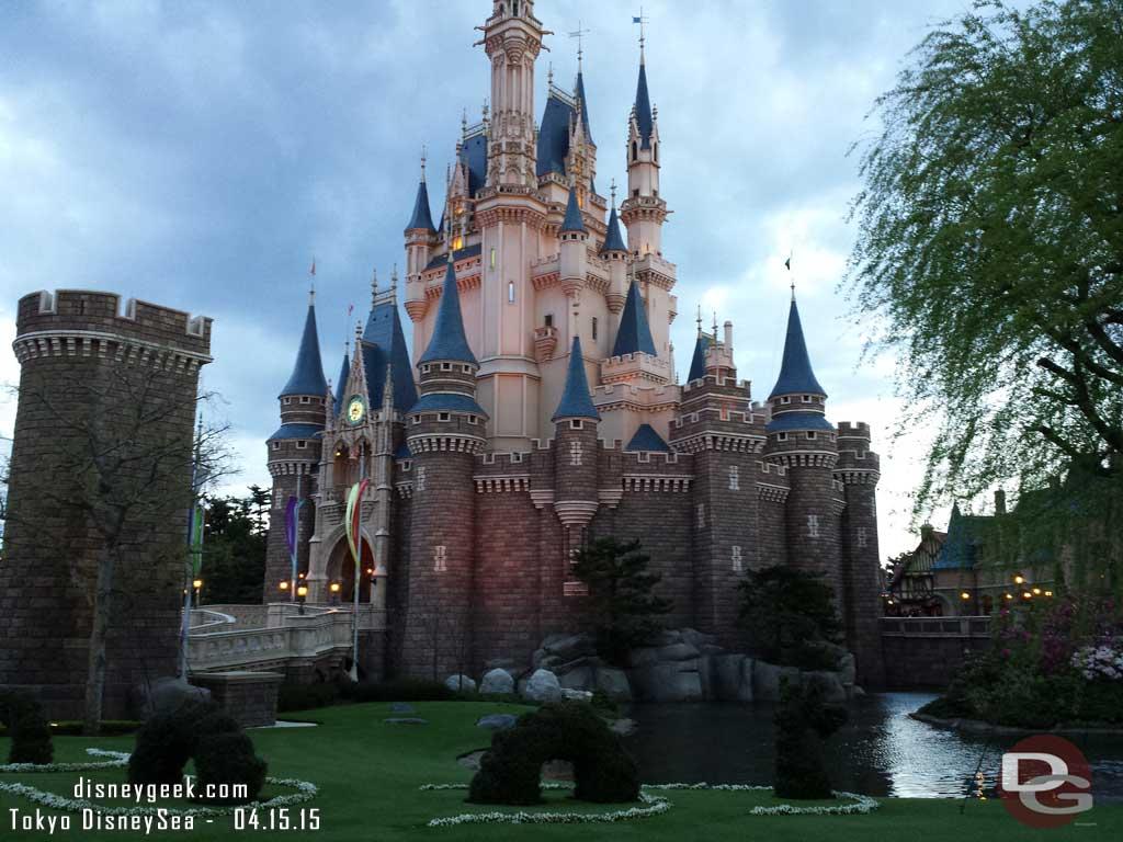 Cinderella Castle #TokyoDisneyland