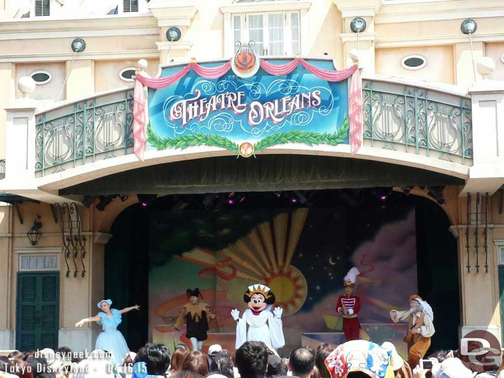 Theatre Orleans – Minnie Oh! Minnie #TokyoDisneyland