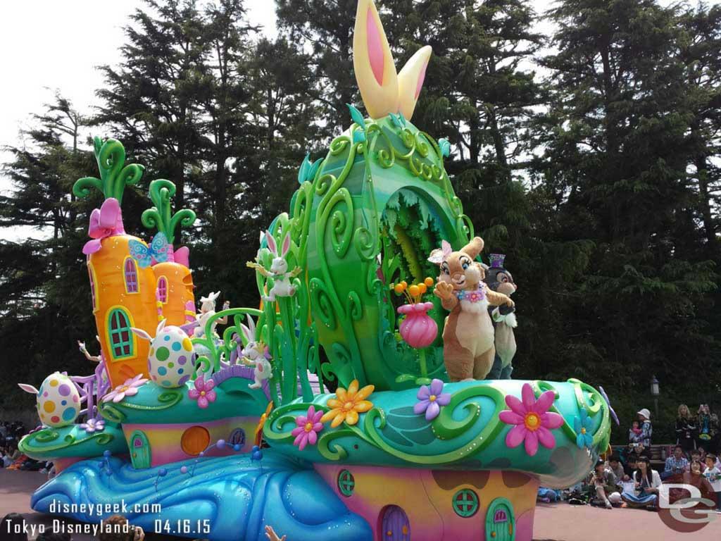 Hippity-Hoppity Springtime – Easter Parade #TokyoDisneyland