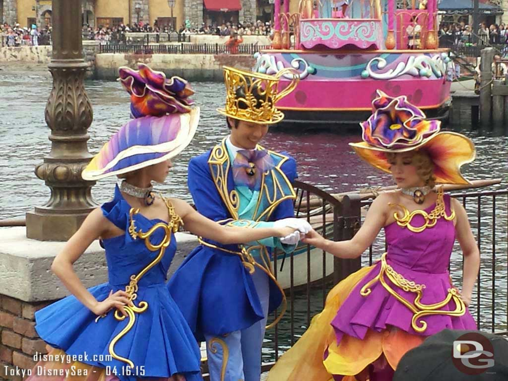 American Waterfront fashion during Fashionable Easter #TokyoDisneySea
